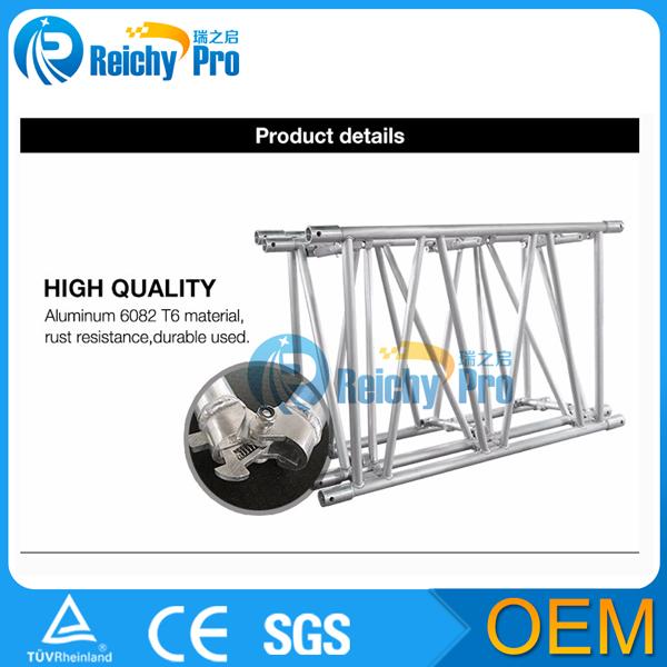 space saving heavy duty folding truss aluminum truss system