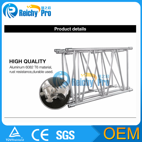 space saving heavy duty folding truss aluminum truss system